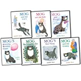 Judith Kerr Judith Kerr Mog the Cat 7 Books Collection Pack Set RRP: £46.93 (Mog's Amazing Birthday Caper, Mog the Forgetful Cat, Mog's Bad Thing, Mog and the Baby, Mog and the V.E.T., Mog and Bunny, Mog and the Granny)