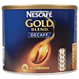 Nescafe Gold Blend Instant Coffee Decaffeinated Tin 500g - 5200230