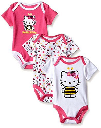 Hello-Kitty-Baby-Girls-Value-Pack-Bodysuits