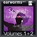 Rapid Spanish (Latin American): Volumes 1 & 2  by  earworms Learning Narrated by Marlon Lodge