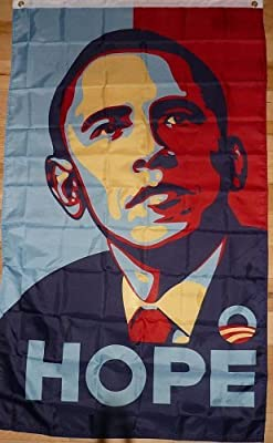 Obama Hope 3x5 foot flag