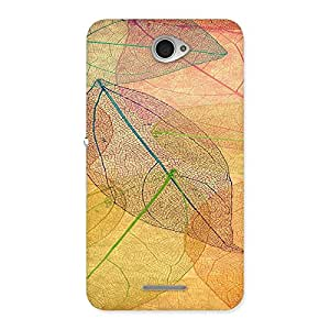 Unicovers Leaf Back Case Cover for Sony Xperia E4