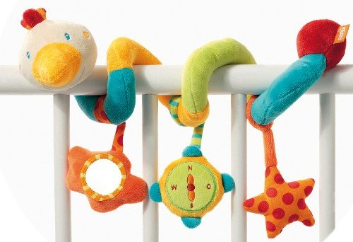 Fehn Baby Early Development Rattle Toys Multifunctional Plush Bed Hanging Bed Hang Ring Bell front-529505