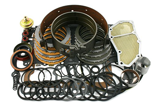 Wellington Parts Corp Ford C4 Transmission Rebuild Overhaul Deluxe Kit 1965-1969 W/ Band Filter, etc (Transmission Rebuild Kit Ford compare prices)