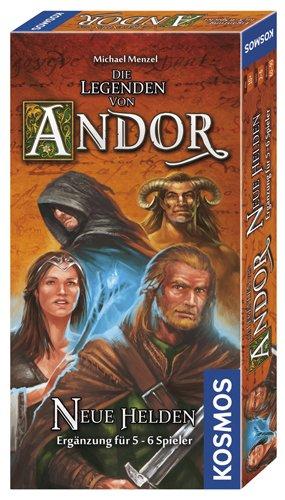 Kosmos 692261 – Die Legenden von Andor, neue Helden, Brettspiel günstig bestellen