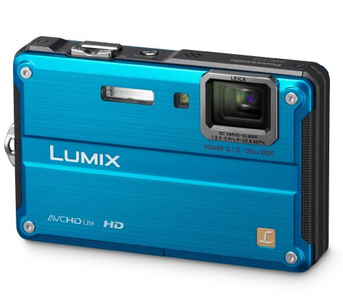 Panasonic Lumix FT2 Digital Camera - Blue (14.1MP, 4.6x Optical Zoom) 2.7 inch LCD