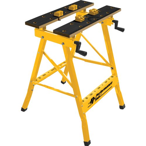 Performance Tool W54025 Portable Multipurpose Workbench and Vise (200 lbs Capacity) (Portable Tool Bench compare prices)