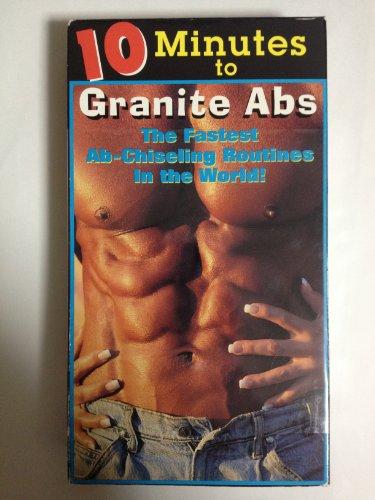 10分で花崗岩のように腹筋を固くするビデオ〜10 minutes to Granite Abs [VHS]ビデオ