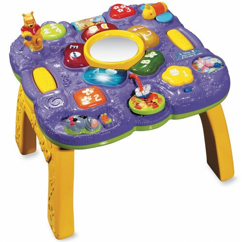 Vtech - Winnie The Pooh - Explore And Learn Table front-959018