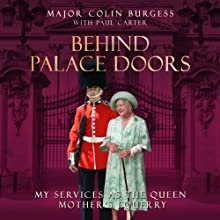 Behind Palace Doors Audiobook by Colin Burgess Narrated by Bob Sinfield