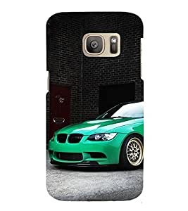 Stylish Cool Car 3D Hard Polycarbonate Designer Back Case Cover for Samsung Galaxy S7 :: Samsung Galaxy S7 G930F :: Samsung Galaxy S7 Duos G930FD