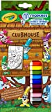 Crayola Pipsqueaks Clubhouse Markers Colouring Set
