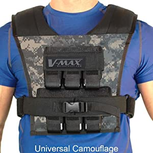30 Lb V-Max Weight Vest - Made in USA by WeightVest.com