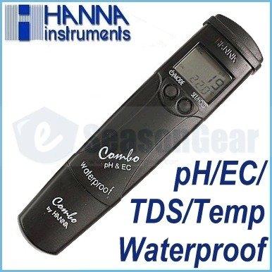 Hanna Instruments pH, Conductivity, Tds, Temp Tester