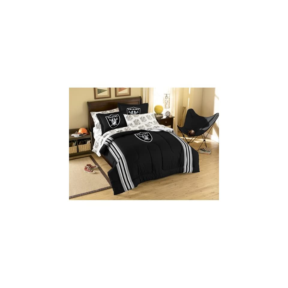 Oakland Raiders NFL Bed in a Bag (Full)