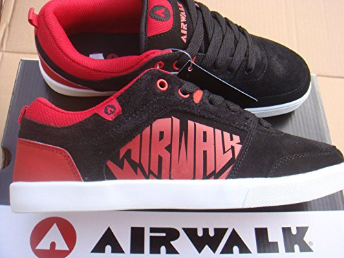 brand-new-casual-black-red-airwalk-chadwick-trainers-size-uk-10