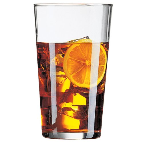 Conique Pint Glasses 20oz / 568ml - Pack Of 4 | Beer Glasses, Hiball Tumblers, Soft Drink Glasses - Tempered Glassware From Arcoroc