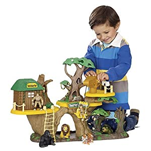 Animal Planet Jungle Fortress Tree House Playset