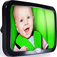 Safe Baby Tech Baby Car Mirror, Crystal Clear Reflection by Safe Baby Tech