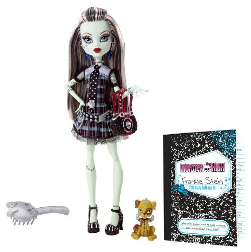 Buy Low Price Mattel Monster High Frankie Stein Doll Figure (B0037UWNR8)