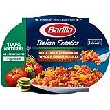 Barilla Italian Entrees, Vegetable Marinara Whole Grain Fusilli, 9 Ounce (Pack of 6)