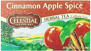 Celestial Seasonings Cinnamon Apple Spice Tea, 20 Count (Pack of 6)