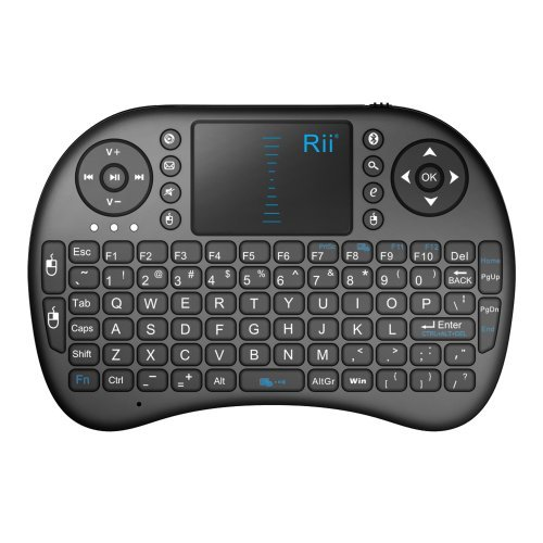 Rii� i8 Mini 2.4GHz Wireless Touchpad Keyboard with Mouse for PC/PAD/360XBox/PS3/Google Android TV Box/HTPC/IPTV (Bluetooth Unprincipled)
