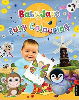baby jake coloring pages - baby jake busy colouring 9781405265768 books