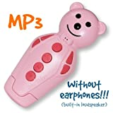 Pink Bidou 2GB - MP3 player for babies and kids with built-in loudspeaker [Toy]
