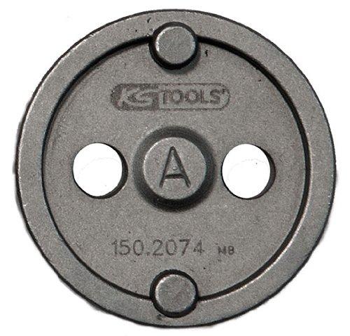 KS Tools 150.2074 - Adattatore A per utensile per la lavorazione dei pistoncini dei freni, ø 42 mm