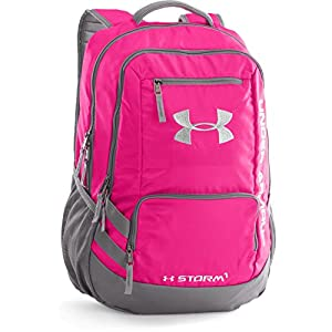 Under Armour Hustle II Backpack, Tropic Pink, One Size