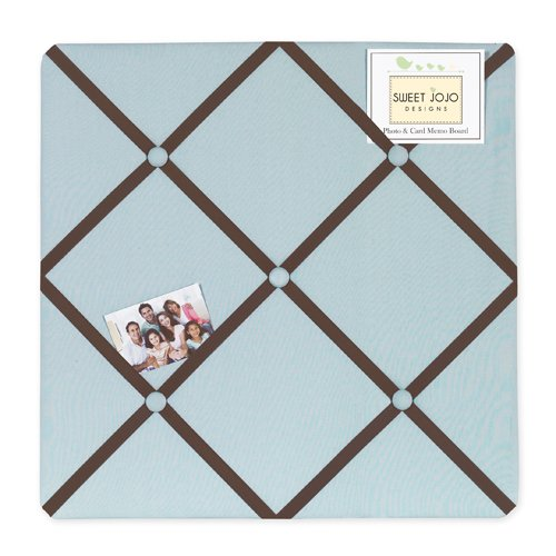 Brown And Blue Nursery Bedding front-545013