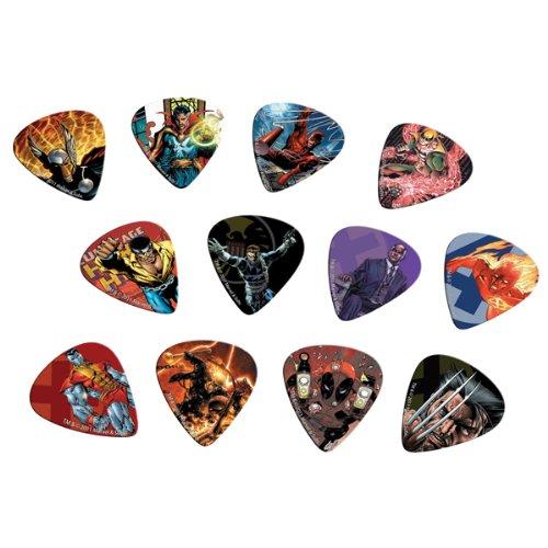 Peavey Marvel Heroes Guitar Picks Pack 1