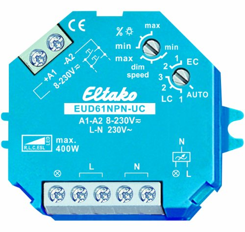 Eltako EUD61NPN-UC Universal-Dimmschalter