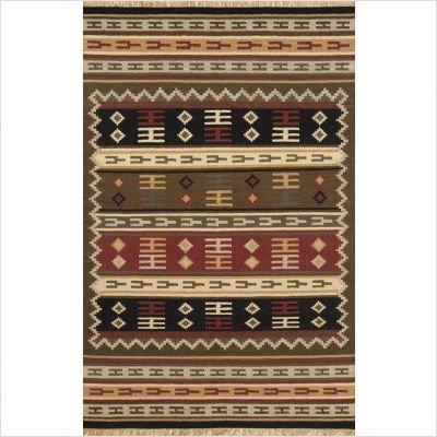 JiJum Brown Southwestern Rug Size: 5' x 8'