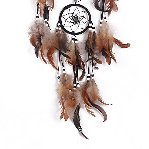 "YYAO® Dream Catcher ~ Handmade Traditional Original (shell) 6.5"" Diameter 22"" Long (With a Gift)"