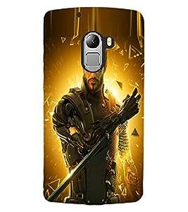 ColourCraft The Warrior Design Back Case Cover for LENOVO A7010