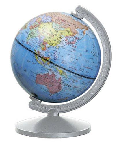 デビカ スモールワールド地球儀 シルバー 070187
