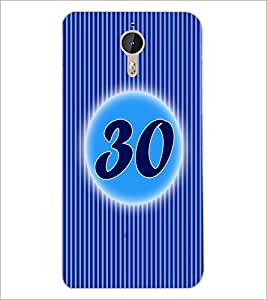 PrintDhaba Numerology Number 30 D-2589 Back Case Cover for LETV (LE ECO) LE 1 PRO (Multi-Coloured)