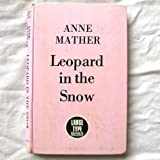 Leopard in the Snow (Large type series)
