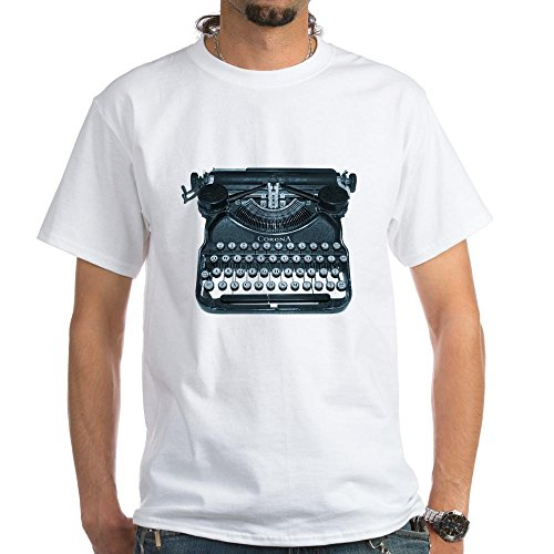 New Mens Old Write Machine Retro Cool Nice Exclusive Quality T-shirt for Men XS Shirt