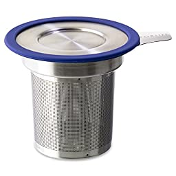 FORLIFE  Brew-in-Mug Extra-Fine Tea Infuser with Lid, Marine