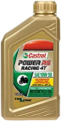 Castrol Power RS Racing 4T 100% Synthetic Oil 10W50 1 Quart 6412