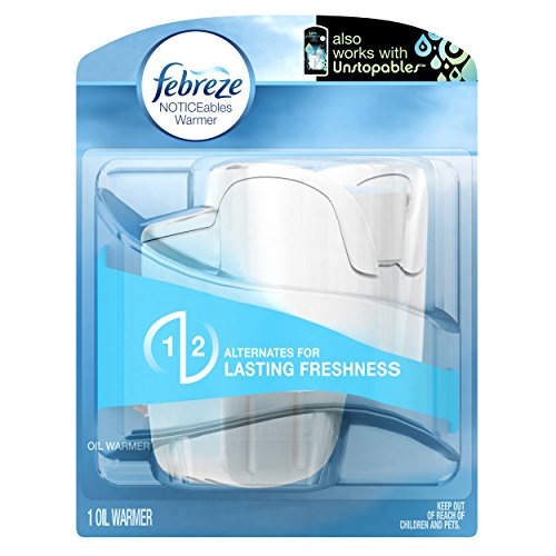 Febreze Air Freshener,  Noticeables  Air Freshener, Dual Scented Oil Warmer (1 Count)(Pack of 3) (Febreze Electric Air Freshener compare prices)