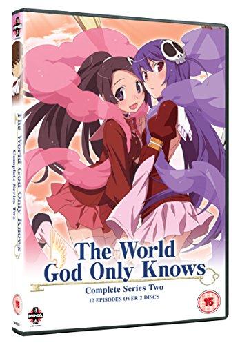 神のみぞ知るセカイ 2期 コンプリート DVD-BOX (全12話, 289分) アニメ [DVD] [Import]
