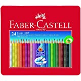 "Faber Castell 112423 - Farbstifte Colour GRIP 2001, 24er Metalletuivon ""Faber-Castell"""