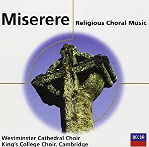 Miserere : Musique Chorale Sacrée