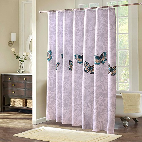 S zone d02v527a waterproof fabric butterfly designer for 12 x 72 window