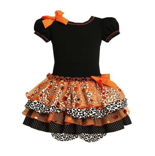Bonnie Jean Baby-Girls Halloween Fall Knit Mixed Skirt Dress 3-6M (Bj B00359) front-946601