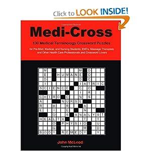 medical terminology crossword puzzles